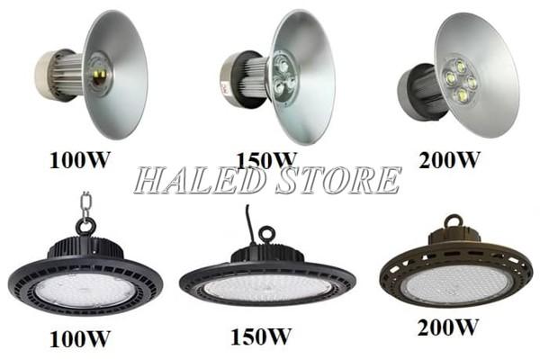 Các loại đèn LED nhà xưởng tiết kiệm điện