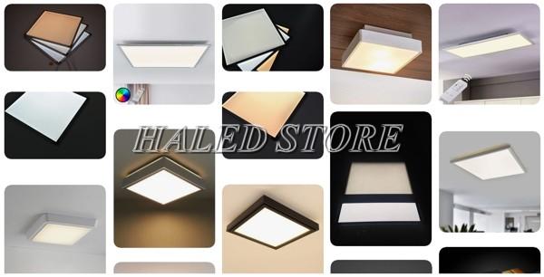 Các mẫu đèn LED Panel chiếu sáng dân dụng