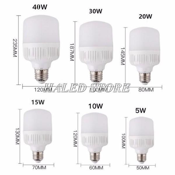Đèn LED bulb chiếu sáng dân dụng