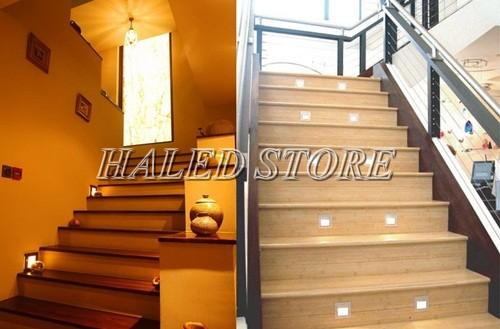 Đèn âm bậc cầu thang trong nhà