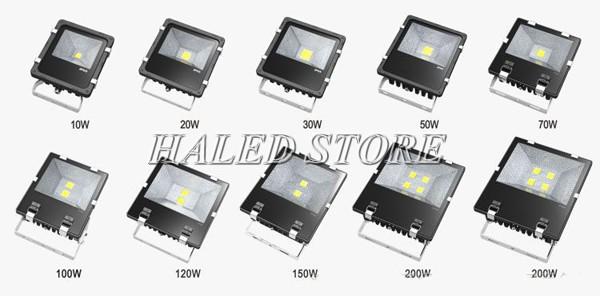 Đèn pha LED tiết kiệm điện năng
