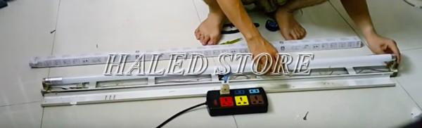 Hoàn thiện đấu đèn LED 1m2