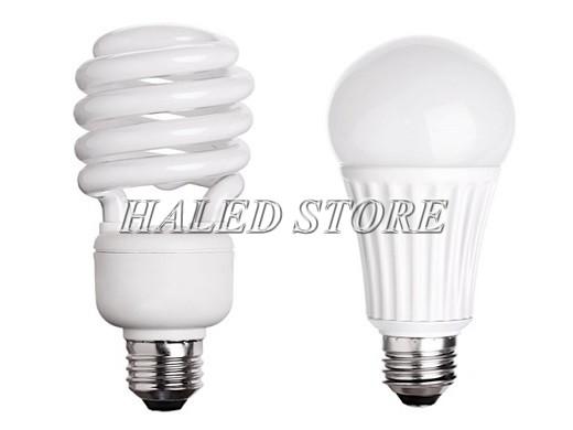 So sánh đèn LED và đèn compact