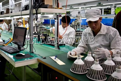 Ứng dụng cho sản xuất đèn LED