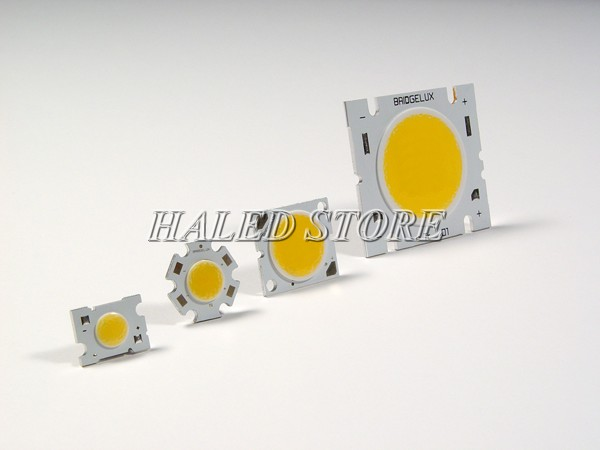Chip LED COB có cấu tạo đơn giản