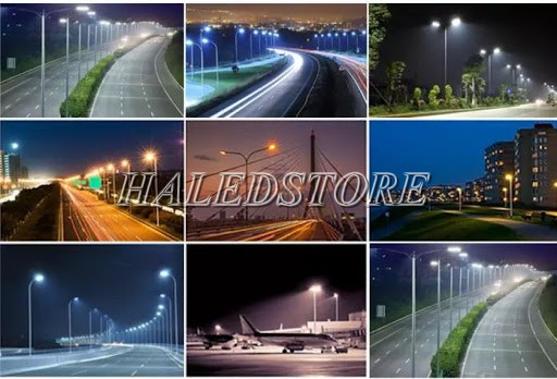 Ứng dụng đèn đường LED DHDA DHQ2502-250