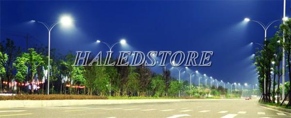 Ứng dụng đèn đường LED DHDA SDLT100-100