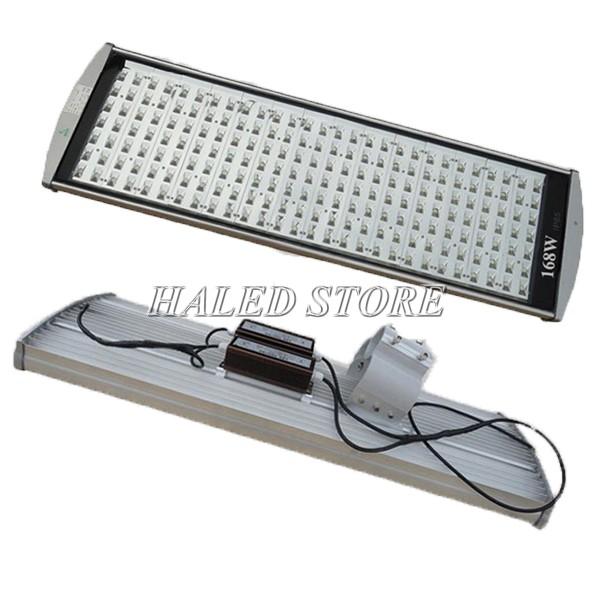 Cấu tạo đèn đường LED HLDAS5-168w