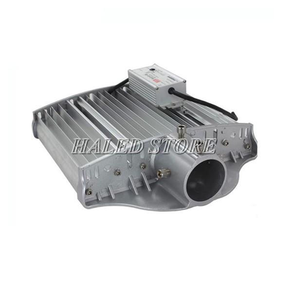 Tản nhiệt và bộ nguồn của đèn đường LED HLDAS5-140