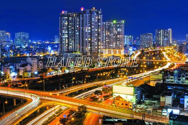 Ứng dụng của đèn đường LED HLDAS24-200w