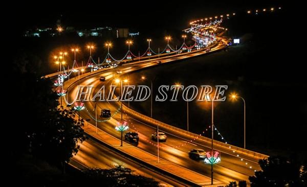 Ứng dụng đèn đường LED HLDAS1-150