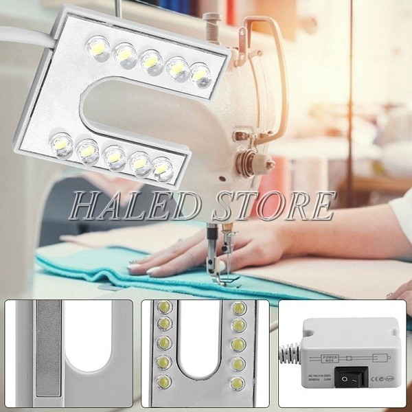 Đèn LED máy may chữ U