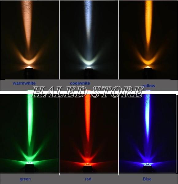 Đèn LED rọi cột đổi màu