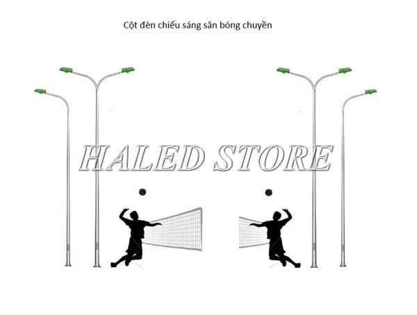 Tiêu chuẩn chiếu sáng sân bóng chuyền