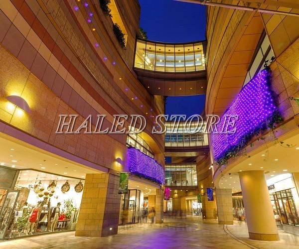 Ứng dụng chiếu sáng tại trung tâm thương mại