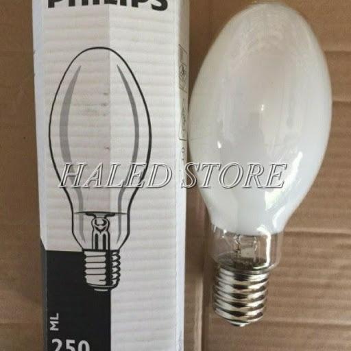 Bóng đèn cao áp thủy ngân 250w Philips ML