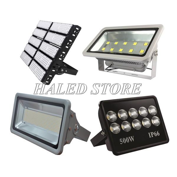 Các dòng đèn LED chiếu sân cầu lông 500w