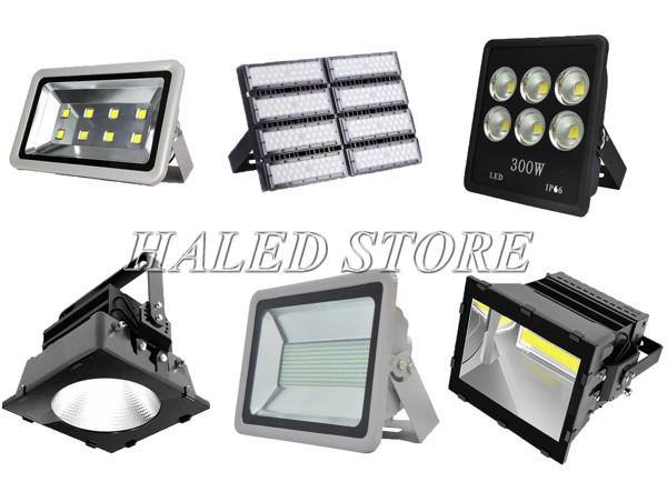 Đèn LED sân bóng chuyền HALEDCO có nhiều công suất, kiểu dáng