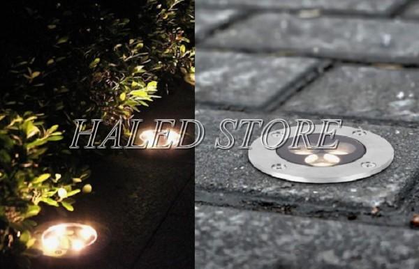 Đèn LED chiếu sáng công cộng âm đất