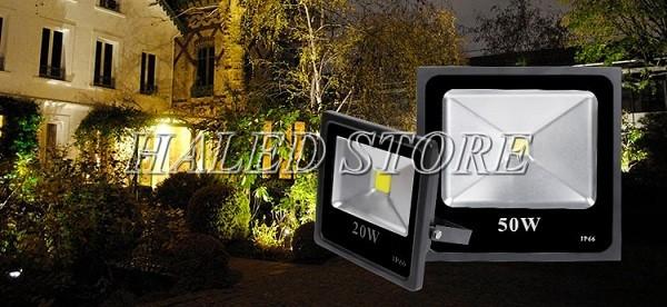 Đèn pha LED sân vườn HALEDCO
