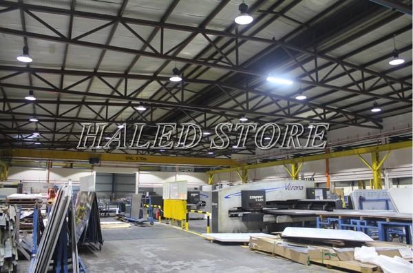 Ứng dụng chiếu sáng của đèn LED Highbay 200w Rạng Đông
