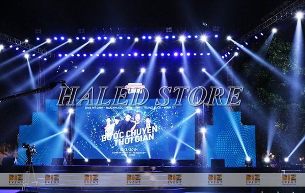 Đèn pha LED HLDAFL8-54 ứng dụng chiếu rọi sân khấu ngoài trời