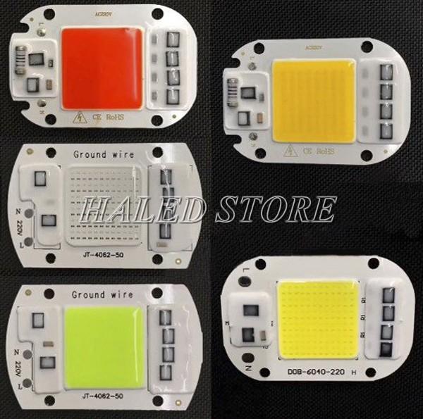 Chip LED 220V COB có nhiều loại