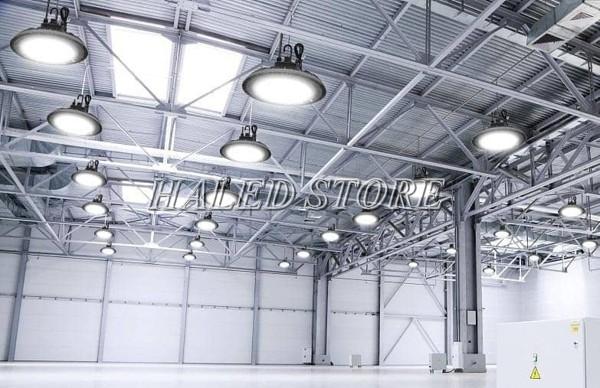 Ứng dụng đèn LED nhà xưởng RDDA D HB03L 290-100