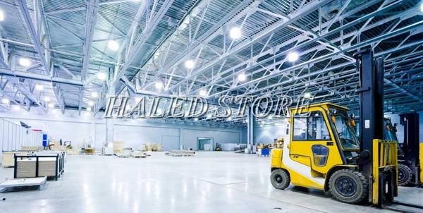 Ứng dụng đèn LED nhà xưởng RDDA D HB02L 350-50