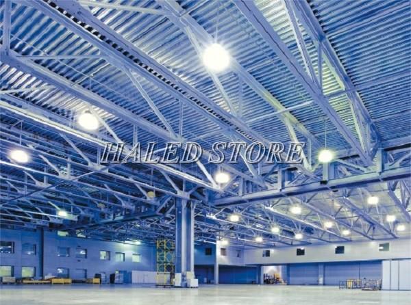 Ứng dụng đèn LED nhà xưởng DQDA HERA 4-200