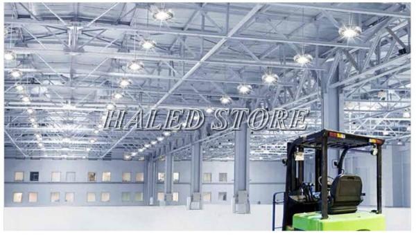 Đèn LED nhà xưởng PLDA BY718P 100/PSU-68 chiếu sáng nhà kho