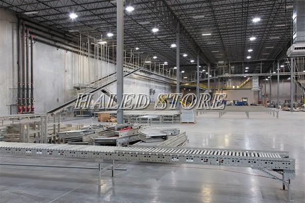 Ứng dụng đèn LED nhà xưởng RDDA D HB02L 500-200