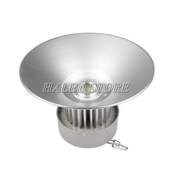Đèn LED nhà xưởng HLDAB11-50 sử dụng chóa nông 120 độ