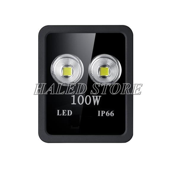 Đèn pha LED HLDAFL10-50 sử dụng hai chip LED COB