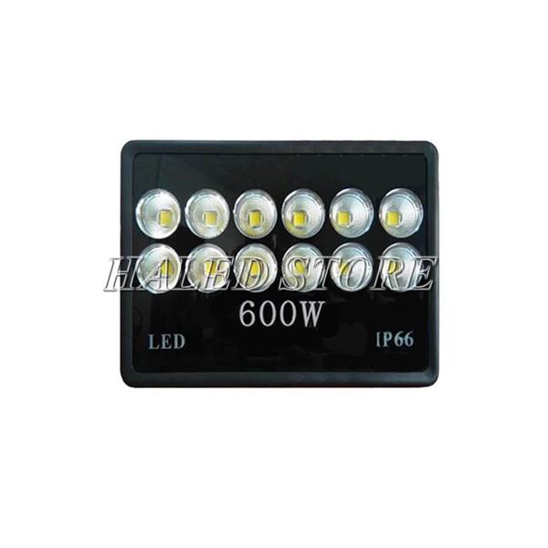 Đèn pha LED HLDAFL10-600 sử dụng chip LED COB cao cấp