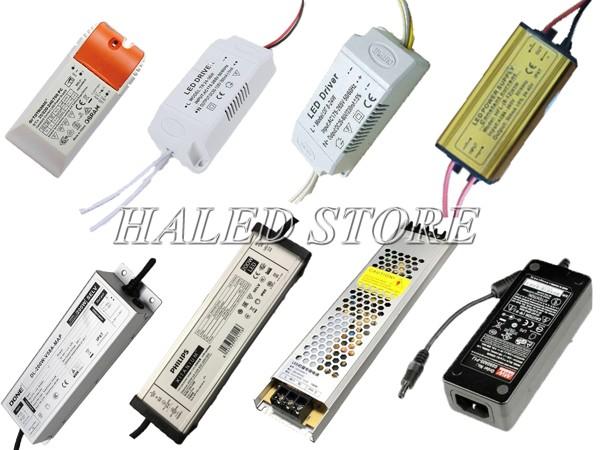 LED Driver có nhiều kích thước, kiểu dáng