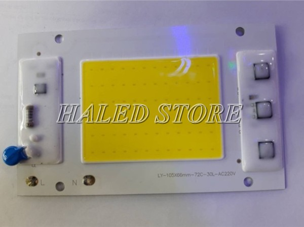 Loại chip LED 220V 30W được sử dụng nhiều
