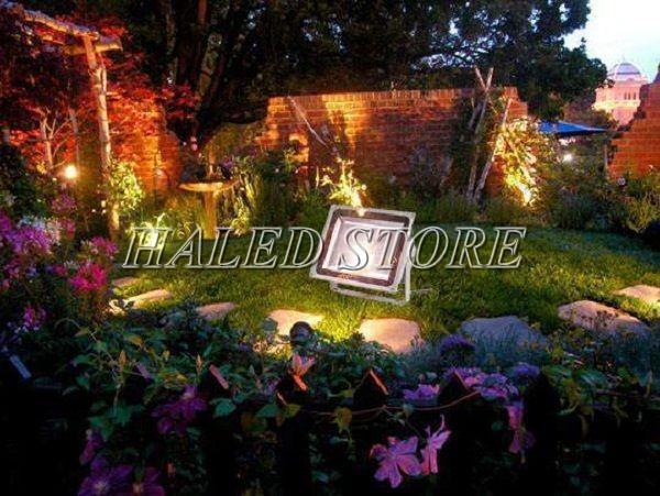 Ứng dụng chiếu sáng sân vườn của đèn pha LED HLDAFL5-20