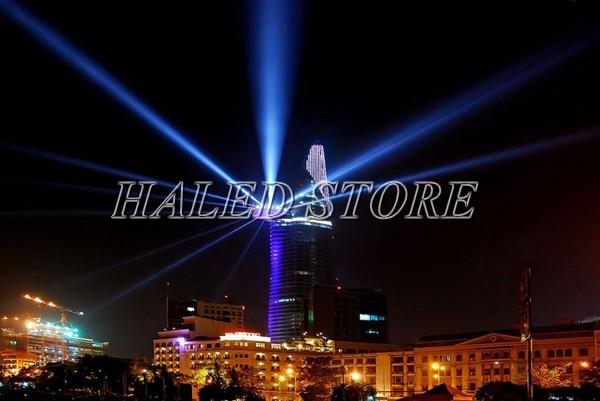 Ứng dụng chiếu xa của đèn pha LED HLDAFL3-80