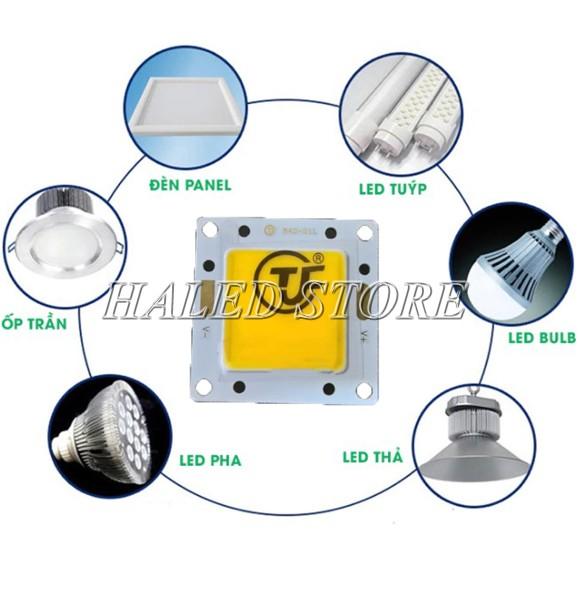 Ứng dụng của chip LED Epistar