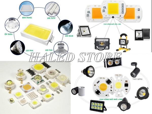 Ứng dụng của chip LED trong sản xuất đèn LED