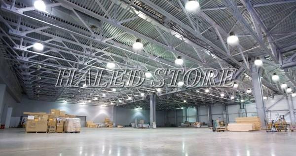 Ứng dụng của đèn LED Highbay 70w Rạng Đông chiếu sáng nhà xưởng