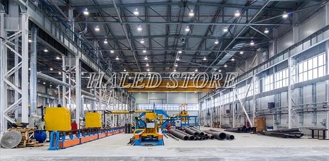 Ứng dụng của đèn LED nhà xưởng HLDAB2-100