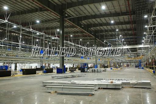 Ứng dụng của đèn LED nhà xưởng HLDAB2-50