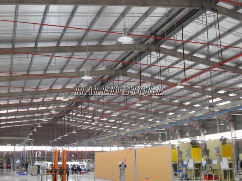 Ứng dụng của đèn LED nhà xưởng HLDAB3-50