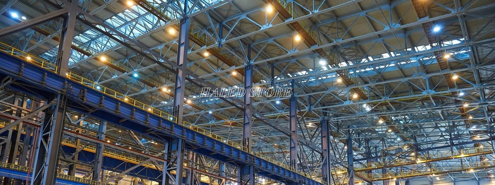 Ứng dụng của đèn LED nhà xưởng HLDAB4-50