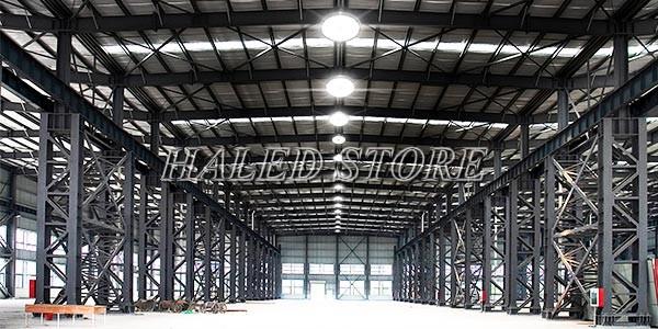Ứng dụng của đèn LED Nhà xưởng HLDA BUFO1-50