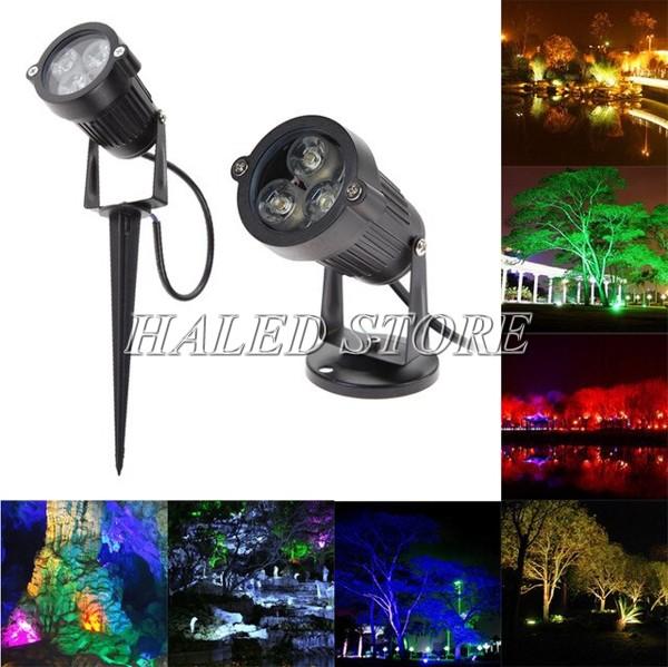 Ứng dụng của đèn LED chiếu cây HLDAOG1-3
