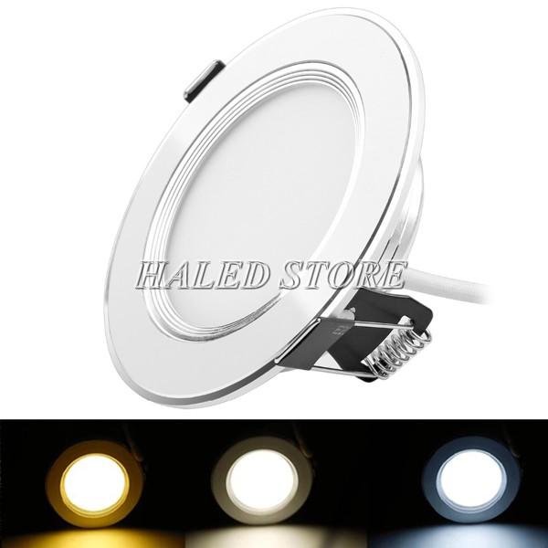 Cách lắp đèn LED âm trần 3 màu