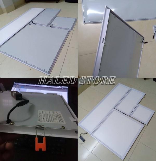 Cách lắp đèn panel với trần chìm
